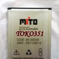 Batery Baterai Mito Fantasy A50 A-50 BA 00046 ORI