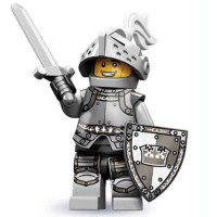 Lego Heroic Knight - Series 9