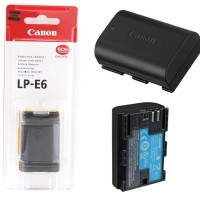 Battery Baterai Canon LP-E6 for EOS 5D Mark II / III, 7D, 60D