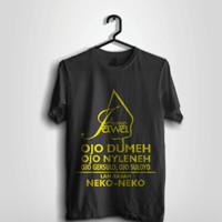 Kaos Filosofi Jawa #Hitam/Black Kaos Jawa Kaos Kata-Kata Jawa
