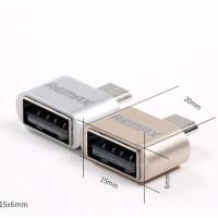 Jual REMAX OTG Micro USB | USB OTG Plug Smartphone Android | Murah