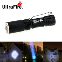 Senter LED UltraFire Mini 280lm Zooming Flash Light (Cool White) 3Mode