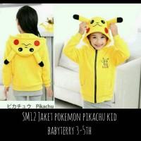 Jaket Pokemon Pikachu Kid @56 Babytery [Baju Anak]