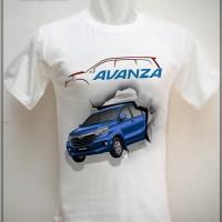 Kaos 3d Avanza / Kaos 3d Toyota / Kaos 3d Mobil