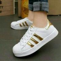 Sepatu Olahraga Adidas Kw Gold KETS SHOES ADIDAS REPLICA GOLD DTS