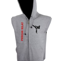 Vest Hoodie Pencak Silat - Misty - Zemba Clothing