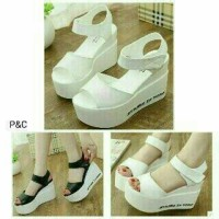 Sepatu Wedges Wanita Formal / Sepatu Wedges Pesta Cewek