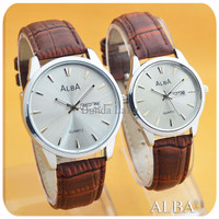 ALBA CLAN WHITE BROWN COUPLE HARI TANGGAL AKTIF WG 174 JXF9
