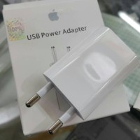 Jual adaptor kepala charger iphone 5 5s 6 6s + ipod ipad mini 5 ORIGINAL Murah