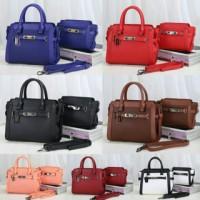Coach Mom & Kids 3232# 2in1 Leather Togo Semi Premium