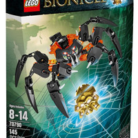 Lego Bionicle 70790 Lord of Skull Spiders Army Okoto Reboot Villains
