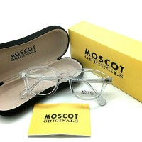 "MOSCOT LEMTOSH "" CLEAR TRANSPARANT"