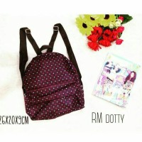 dotty tas ransel mini bag import korea tumblr murah