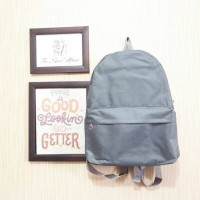 tas ransel import mini bag lucu murah misty abu tumblr