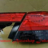 harga Stoplamp Honda Accord 2008 - 2012 Led Bar Crystal Red Smoke Eagle Eyes Tokopedia.com