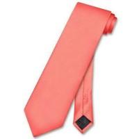 Jual dasi panjang long tie peach ready stok Murah
