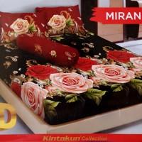 Sprei D'luxe Kintakun ukuran 180 x 200 - Miranda