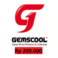 Voucher Gemscool 200000 / 20000 G-Cash