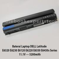 Baterai Laptop DELL Latitude E6320 E6230 E6120 E6220 E6330 E6430s Oem