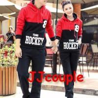 Jaket Couple / Baju Pasangan / sweater cople hockey