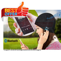 harga Bluetooth Knit Beanie with Hands free Calls / Topi / Headset / Kupluk Tokopedia.com