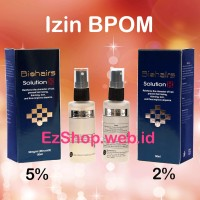 Bio Hair Solution 5% Penumbuh Rambut Alami Asli Ez Shop (Biohairs)