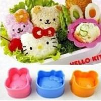 Cetakan Nasi Bento Hello Kitty