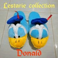 Sandal Boneka XL Donald / Sandal Lucu / Sandal Kamar / Sandal Rumah
