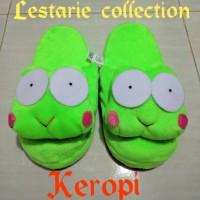 Sandal Boneka XL Keropi / Sandal Kamar / Sandal Lucu / Sandal Rumah