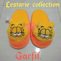 Sandal Boneka L Garfil / Sandal Lucu / Sandal Rumah / Sandal Kamar
