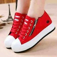 harga Sepatu Wanita Casul merah Hello Tokopedia.com