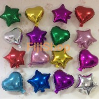 Balon foil Love & Star mini size