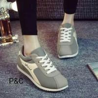 harga sport diadora abu/sepatu abu lis putih Tokopedia.com
