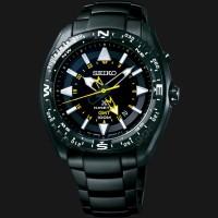 Seiko Prospex SUN047P1 Land Kinetic GMT 100M Stainless Steel Bracelet