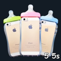 harga FOR IPHONE 5 5S - SOFT JELLY CASE CUTE BOTTLE MILK BABY BOTOL DOT SUSU Tokopedia.com
