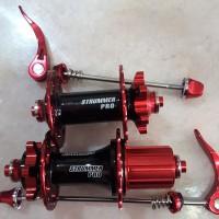 harga Hub Strummer Pro 32 H untuk sepeda balap / road bike suara jangkrik Tokopedia.com