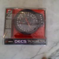 Tachometer APEXI DECS + Shiftlight ( black - white )