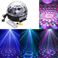 LAMPU DISCO MIRABALL/JAMUR WITH (USB,REMOTE,SPEAKER SUPERBASS)