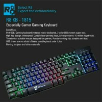 Jual Keyboad Mechanical R8 1815 Gaming Keyboard Murah