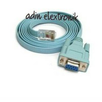 KABEL SERIAL DB9 F (RS232) TO RJ45 for (cisco)HIGH QUALITY