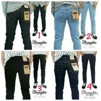 Jual Celana Jeans Wrangler BlueBlack Biru Dongker BioBlitz Black  Strech Murah