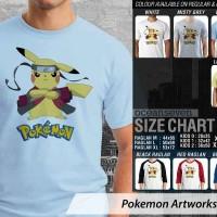 Kaos Pokemon Artworks 23 Pikachu Naruto