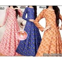 harga Gamis Jersey Gayatri / Baju Gamis Wanita / Busana Muslim Maxi Dress Tokopedia.com