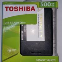 harga Toshiba Canvio Basic 500GB Basics HDD HD Harddisk Eksternal Hardisk Tokopedia.com
