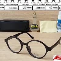 Jual kacamata minus / frame bulat / kacamata dior / frame dior minus Murah