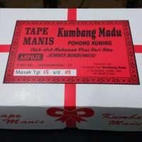 Tape singkong / khas jember cap Tawon madu