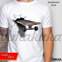 sketboard deck - kaos 3D
