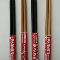 harga Stik drum merk Sonor dan Zildjian Tokopedia.com