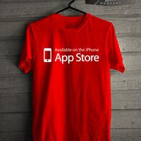 Kaos/T-shirt Gadget Iphone App Store