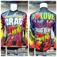 Baju Balap Cross Drag Bike (tangan Panjang)